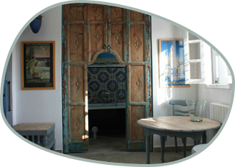 The Sidi Bou Saïd room